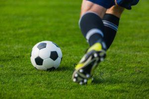 Prescription sport eyewear Jerusalem helps this soccer player succeed on the field.